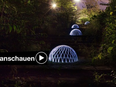 DOMES TUTORIAL - LIGHTPAINTING FOTOGRAFIEREN BEI NACHT