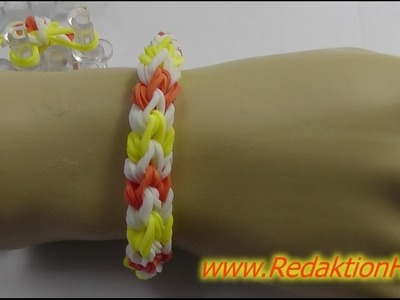 Loom Bands mit Rainbow Loom - Deutsch - L - Veronika Hug