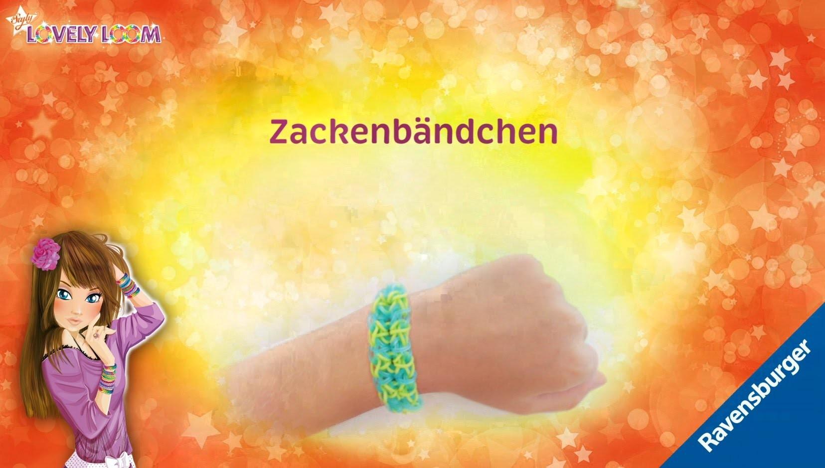 So Styly: Lovely Loom - Zackenbändchen - Video-Anleitung