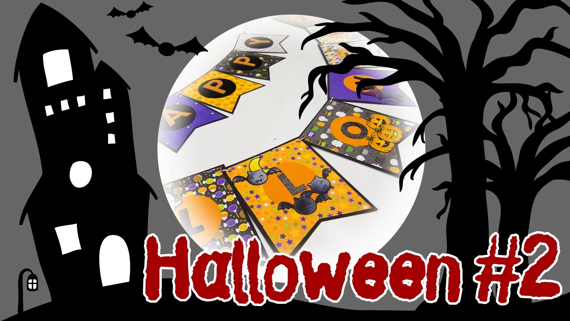 [Halloween #2] Banner zum Aufhängen   DIY Deko für Halloween