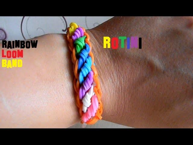 Rainbow Loom Rotini Armband Braclet DIY Deutsch