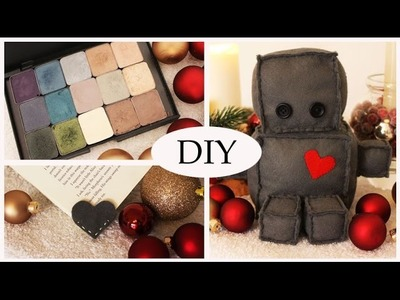 diy schnelle glitzer anh nger f r weihnachten how to make a christmas ornament from paper my. Black Bedroom Furniture Sets. Home Design Ideas