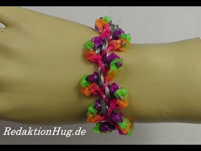 Loom Bands Rainbow Loom Anleitung Deutsch A 36 - Veronika Hug