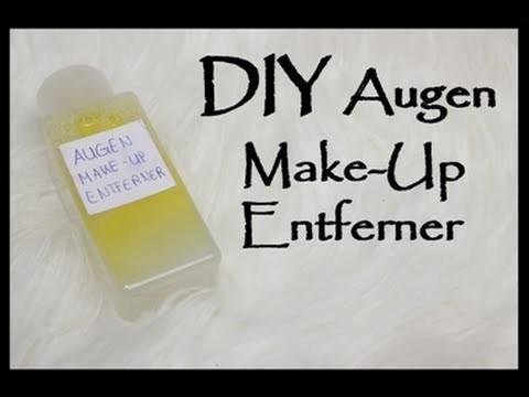 DIY Augen Make-Up Entferner |Beautyreihe 3#