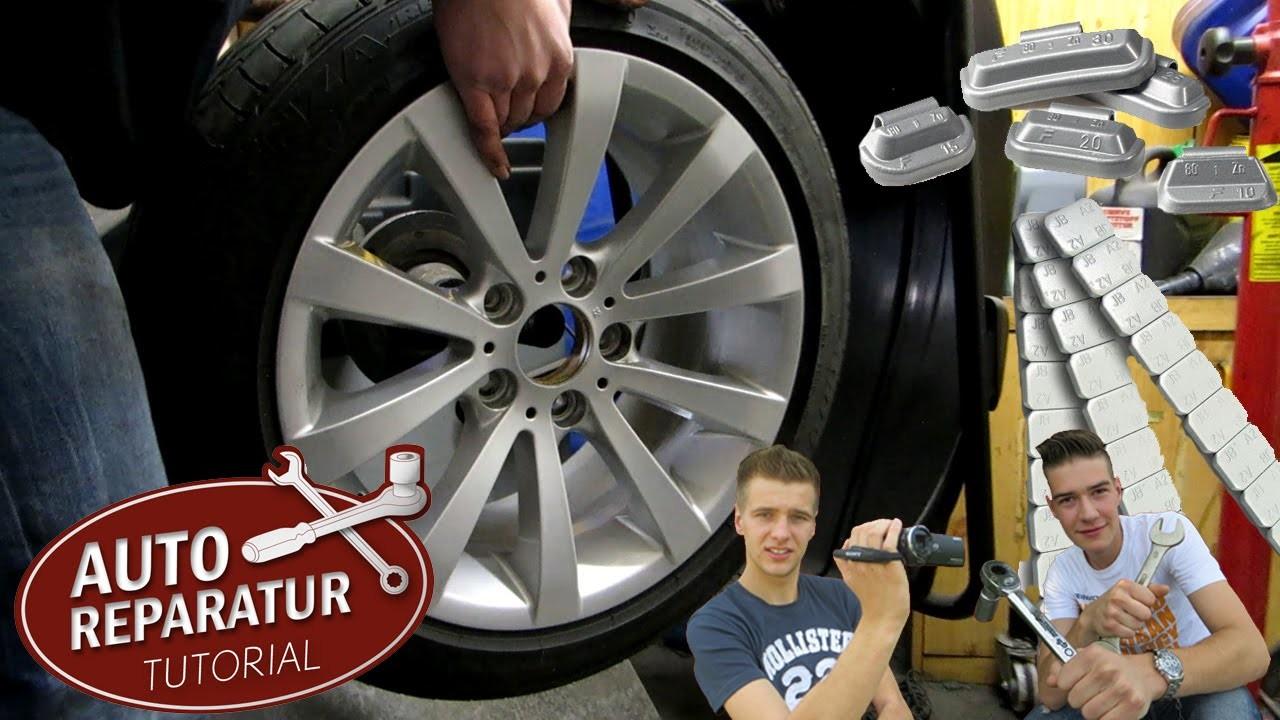 REIFEN WUCHTEN | Räder richtig auswuchten [Tutorial] HD wheel balancing