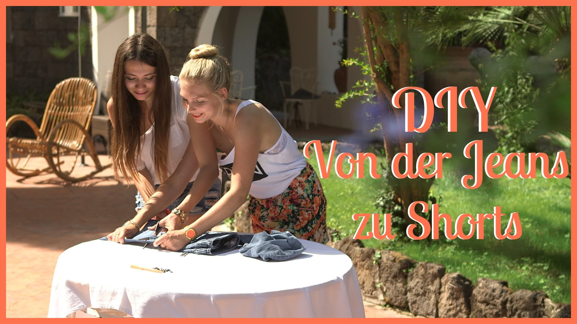 Von der Jeans zur Shorts - DIY by Akalineable und JessyWunderland