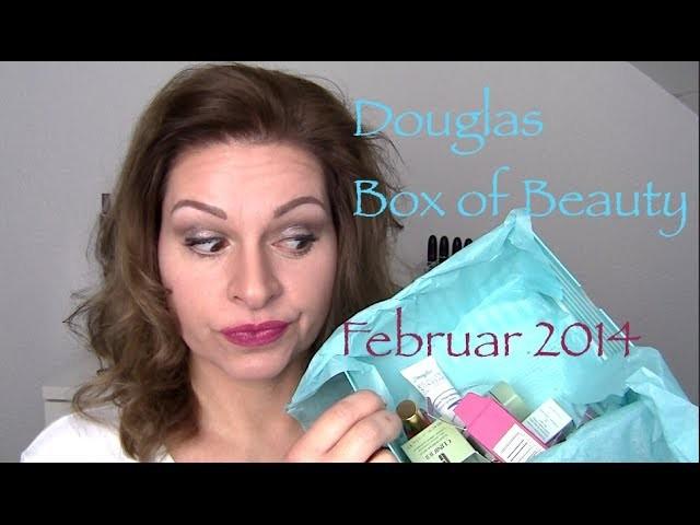 Douglas Box of Beauty Februar 2014 HD UNBOXING BoB