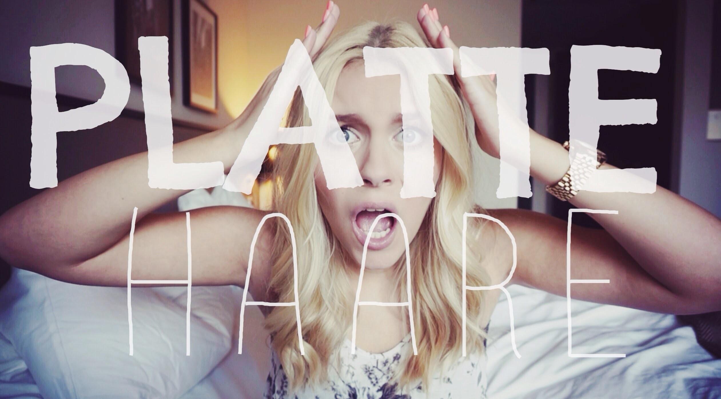 Problem : PLATTE HAARE ♡ CALL OF BEAUTY ♡ | Dagi Bee