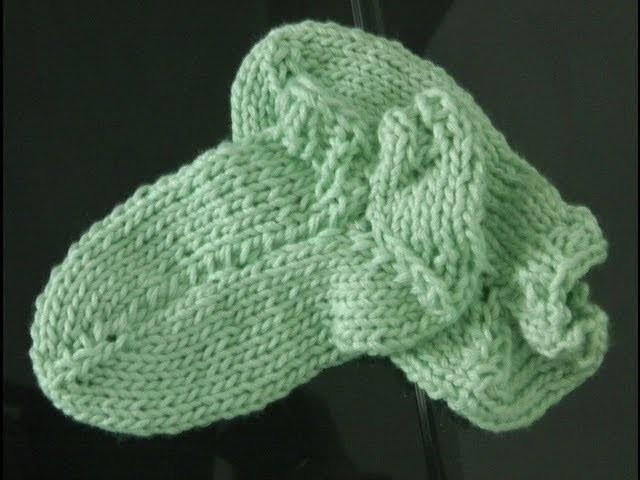 Socken stricken super einfach [2] Schaft und Ferse