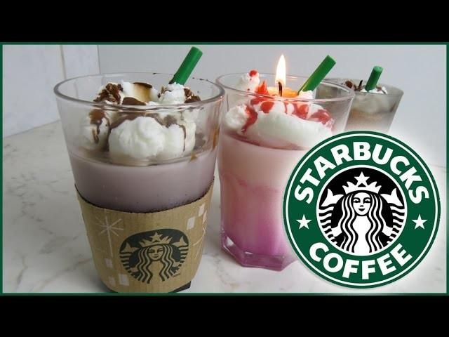 Starbucks Caramel Frappuchino Kerzen selber machen (DiY)