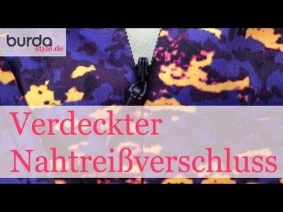 Burda style – Nahtreißverschluss
