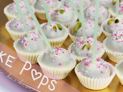 Cake Pop Pralinen - ohne backen