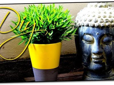 Blumentopf verschönern! - Einfaches DIY für den Sommer