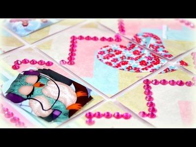 DIY Bastelideen | Basteln mit Papier Kindern | Pocket Letter Eule deutsch Anleitung