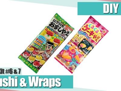 [DIY] Meiji Sushi & Wraps Gummibärchen | Anielas Fimo