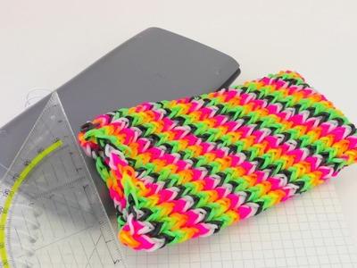 Rainbow Loom HANDYHÜLLE BERECHNEN. Die perfekte Größe der Handytasche deutsch
