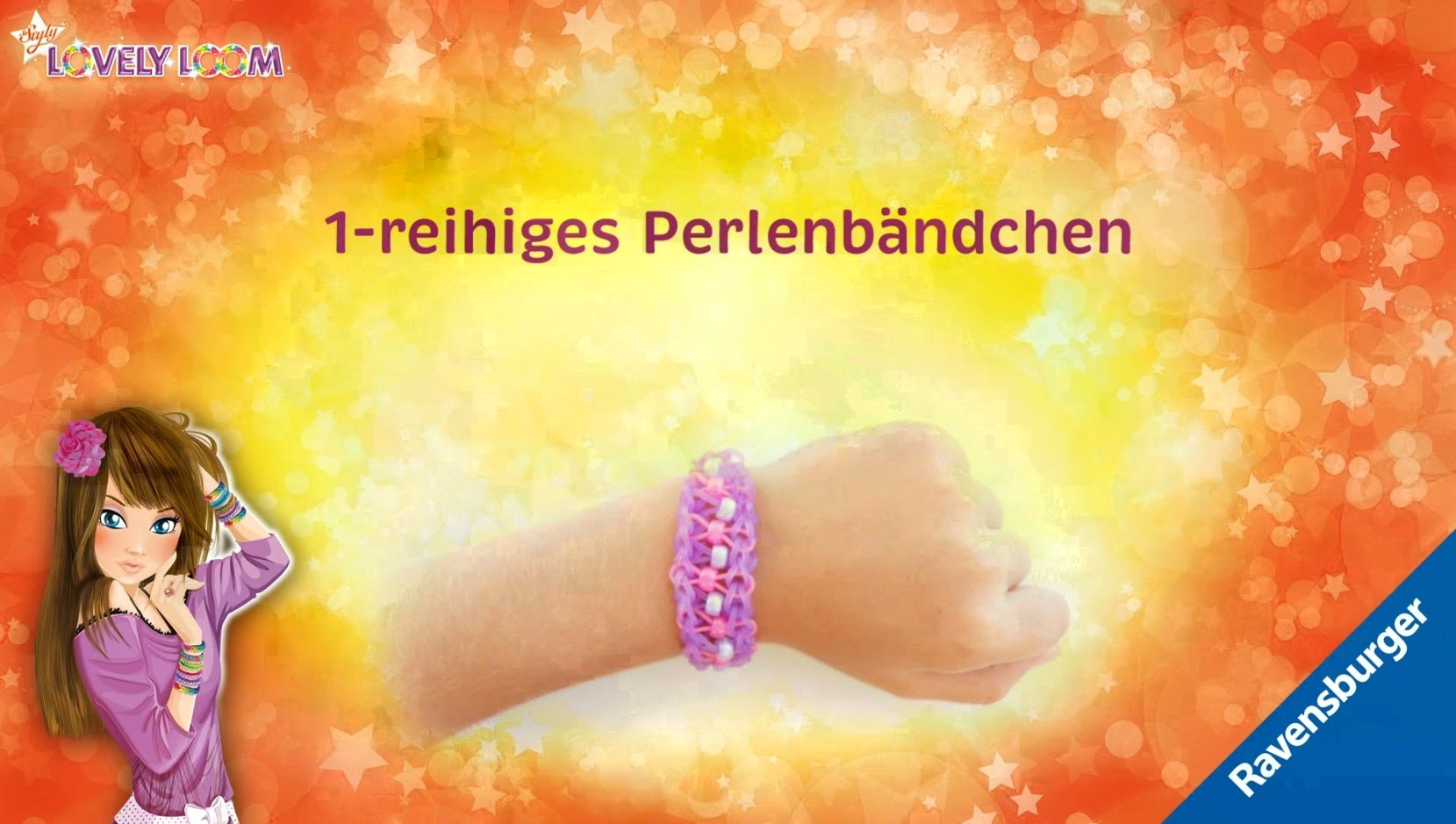 So Styly: Lovely Loom - 1-reihiges Perlenbändchen - Video-Anleitung