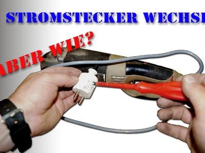 Stecker von Elektrogeräten tauschen wie? M1Molter