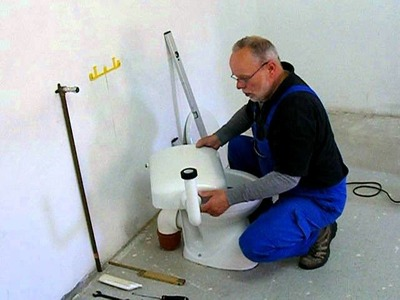 WC Anlage  Montage Teil 2  Spülkasten