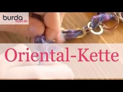Burda style – Schmuck: Oriental-Kette basteln
