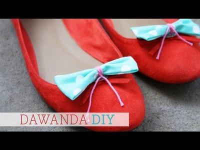 DaWanda DIY: Schuh Clips von Luloveshandmade