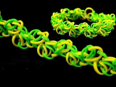 DIY Armband selber machen mit Loom Bands - Rainbow Loom Tutorial