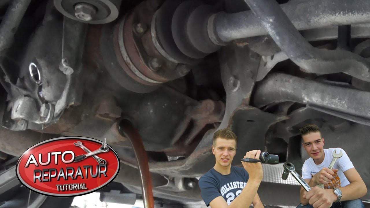 Differentialgetriebeöl wechseln Differentialölwechsel  [Tutorial] HD differential oil change