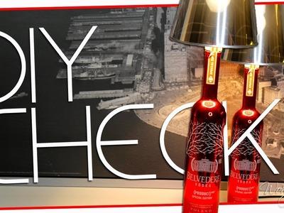 DIY Lampe |Flaschenlampe |CHECK |Wohnprinz