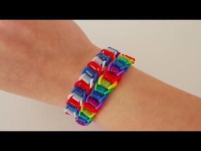 Loom bands Bügelperlen-Armband (deutsch Anleitung)