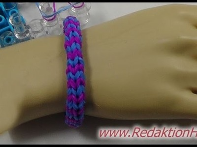 Loom Bands mit Rainbow-Loom - Deutsch - B