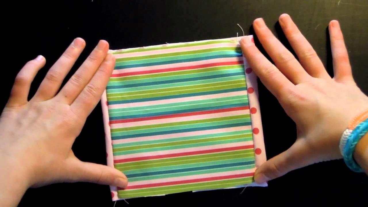 Nähen für Kids und Anfänger*Taschentuchtasche*Studio Sonnenberg