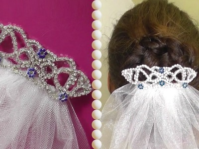 DIY | Bellas Wedding Hair Accessoire - Haarkamm