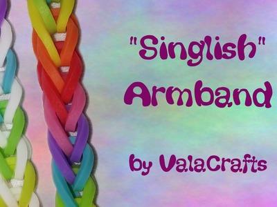 NEU Rainbow Loom Singlish Armband (Original Design)