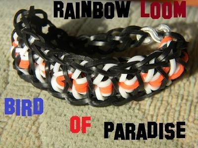 Rainbow Loom Bird of Paradise Bracelet DIY Deutsch
