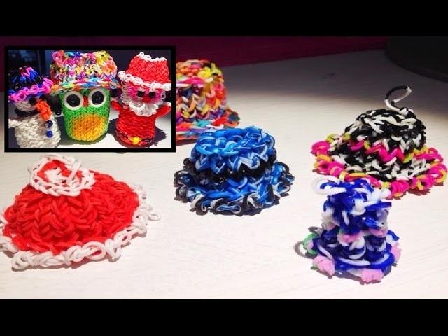 Rainbow Loom Hüte.Mützen.Caps (klein bis groß )