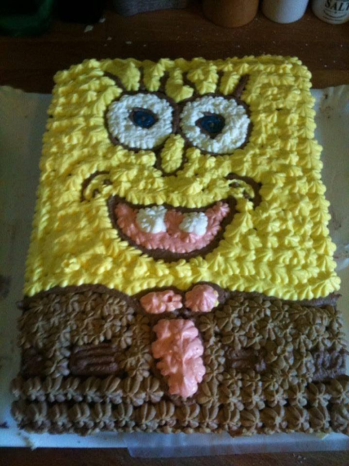 Spongebobtorte Selber Machen L Geburtstagstorte L 1 Geburtstag