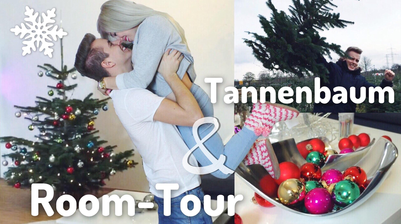 TANNENBAUM FÄLLEN & ROOM-TOUR Weihnachts-Edition ☃❄