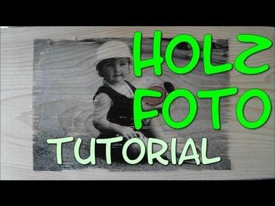 Holzfoto (DIY Geschenkidee)