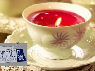 Kerzen in der Tasse | Handmade mit Enie - Mach's einfach selbst | sixx