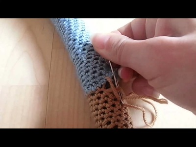 Do it yourself: kuscheliger Häkel-Hoop