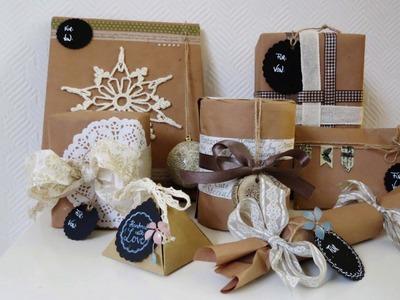 Geschenke verpacken * 7 Ideen * Gift Wrapping