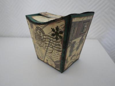 Schachtel selber machen * Vintage