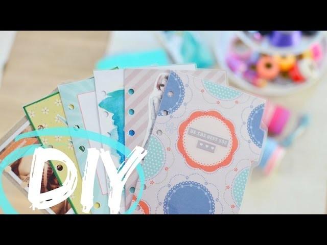 6 FILOFAX Divider DIY's | Trennblätter, Kalender, Schulplaner | ViktoriaSarina