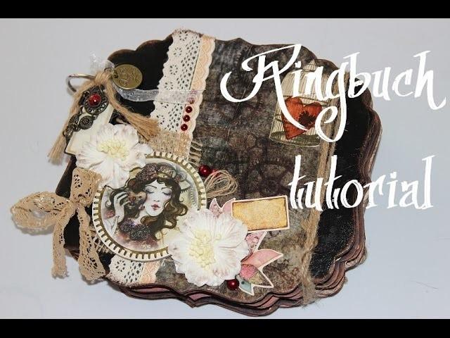 Ringbuch Scrapbook tutorial (Mona´S Kreativwerkstatt)