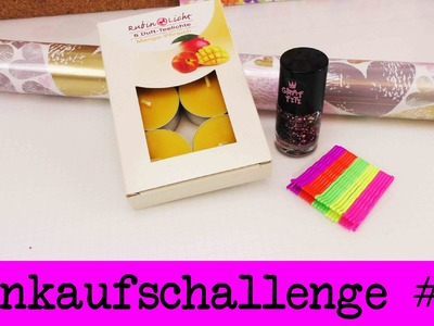 DIY Inspiration Challenge #24 Einkaufschallenge | Evas Challenge | Tutorial - Do it yourself