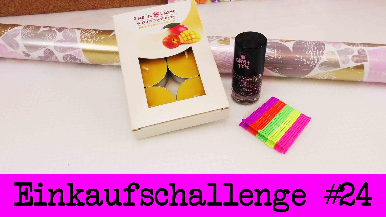 DIY Inspiration Challenge #24 Einkaufschallenge | Evas Challenge | Tutorial - Do it yourself