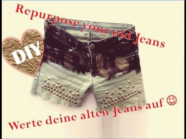 DIY: Vintage cut-off shorts! DIY batik shorts! Revamp your old jeans! Alte Jeans aufpeppen!