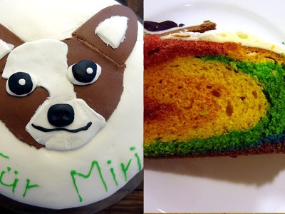 How to make an easy Rainbowcake Chihuahua