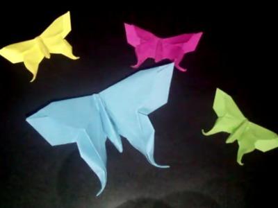 Origami Butterfly: Papierschmetterling - Faltanleitung [HD]