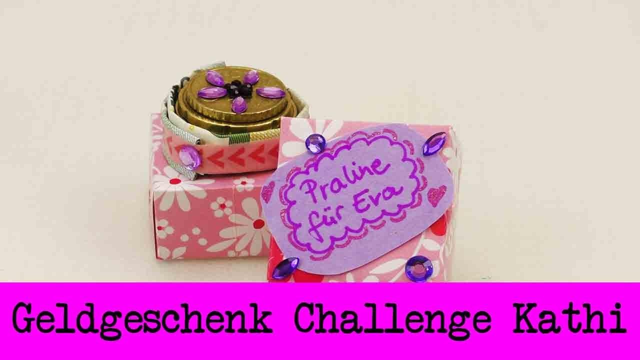 DIY Inspiration Challenge #29 Geldgeschenk | Kathis Challenge | Tutorial - Do it yourself